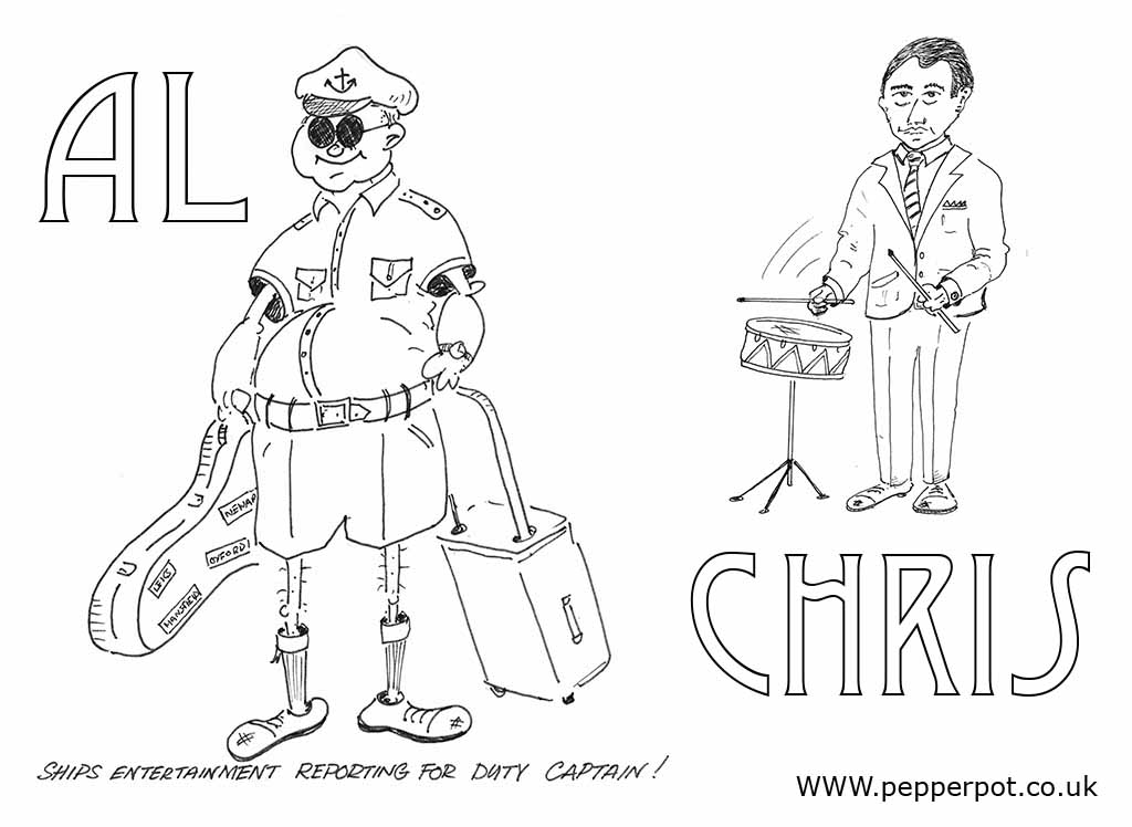 al and chris cartoon